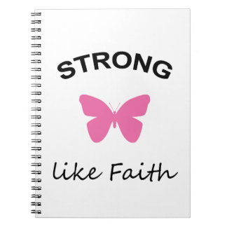 Faith and Folly and Cupcake Notebook