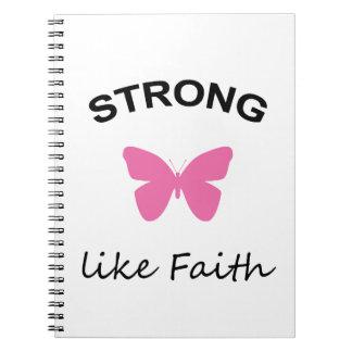 Faith and Folly and Cupcake Notebook