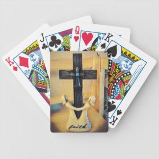 Faith Bicycle Playing Cards