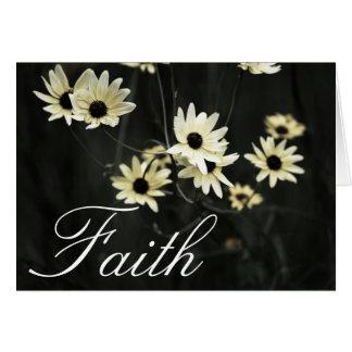 Faith - Black Eyed Susan Greeting Card