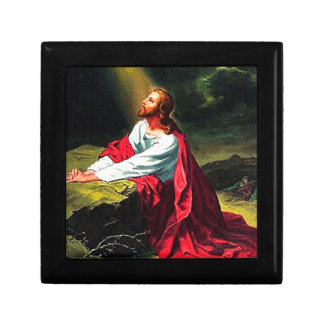 faith blessing inspirational hope Jesus sandstone Gift Box