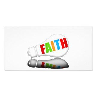 Faith Bulb Cards Picture Card