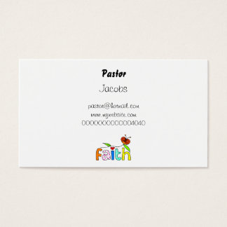 Text message business cards business card printing zazzle faith business card colourmoves