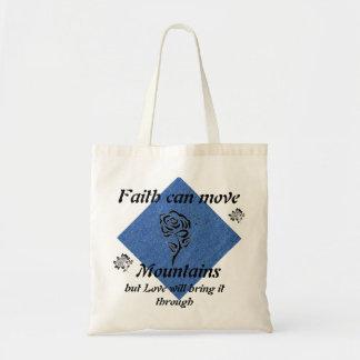 Faith Can Move Mountain Tote Bag
