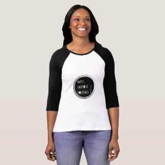 """""""Faith can move mountains"""" Bible verse T-Shirt"""