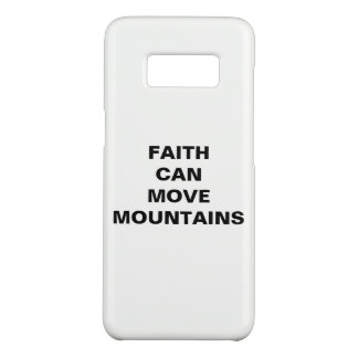 """Faith Can Move Mountains"" Samsung Galaxy S8 Case"