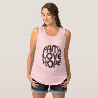Faith Coils Hope Maternity Tank Top
