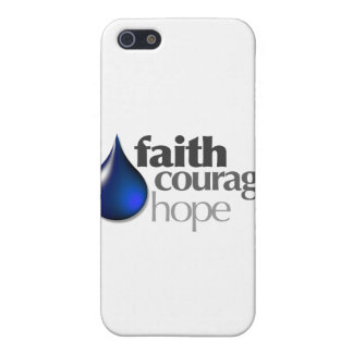 Faith - Courage - Hope iPhone 5 Covers