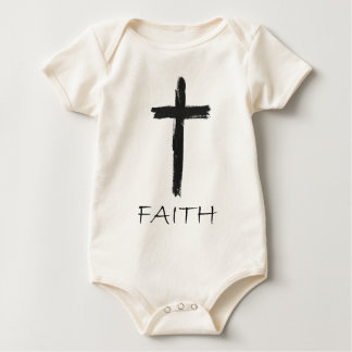 Faith Cross Baby Bodysuit