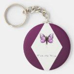 Faith Diamond Keychain
