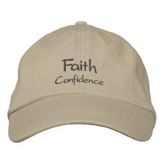 Faith Embroidered Baseball Cap / Hat
