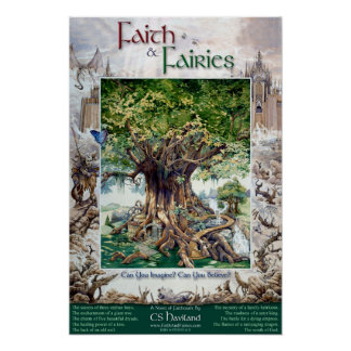 Faith & Fairies Poster