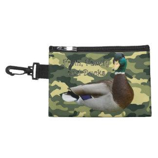 Faith, Family and Ducks Accessory Bags