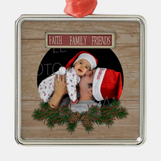 Faith Family Friends Ornament