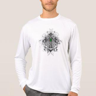 Faith Family Prayer Cross (Green)  - Kidney Cancer T-shirt