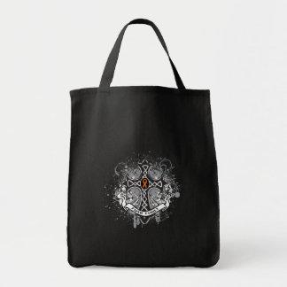 Faith Family Prayer Cross (Orange) - Kidney Cancer Bag