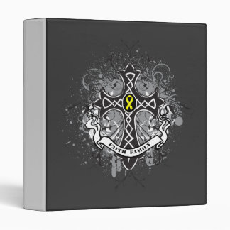 Faith Family Prayer Cross - Sarcoma Vinyl Binders