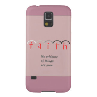 """""""Faith"""" - Feminine Pink Phone Case"""