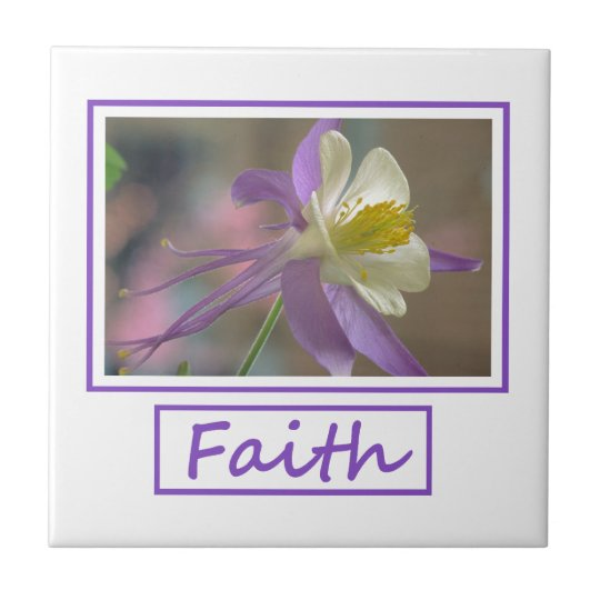 Faith Flowers Tile