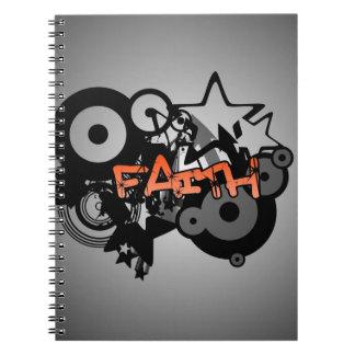 FAITH Graffiti Art Spiral Note Book
