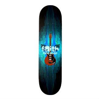 Faith Guitar 21.6 Cm Skateboard Deck