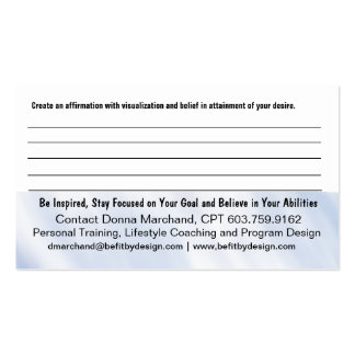 Faith Handout Card Pack Of Standard Business Cards