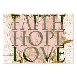 Faith, Hope and Love Business Cards
