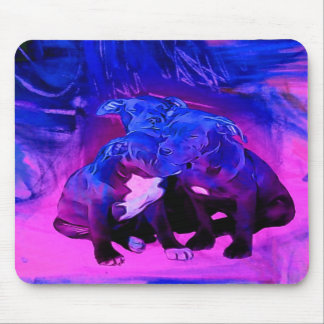 Faith Hope & Charity, Abused Pit Bull Dogs Mouse Pad