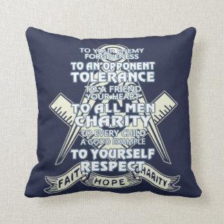 Faith - Hope - Charity Cushion