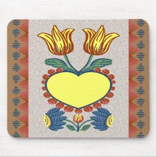 Faith, Hope, Charity & Love - Mousepad