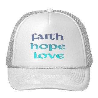 Faith Hope Love Hat
