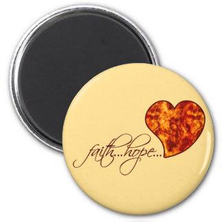 Faith Hope Love Heart 1 Corinthians 13 13 Refrigerator Magnets