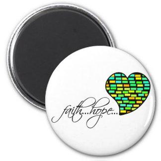 Faith Hope Love Heart 1 Corinthians 13 13 Fridge Magnets