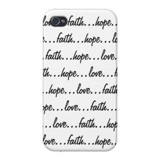 faith...hope...love... iPhone 4/4S covers