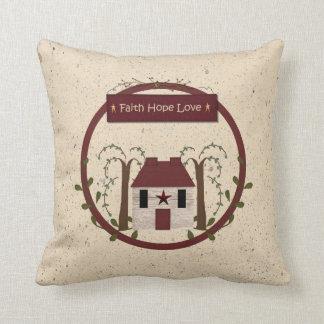 Faith Hope Love Pillow