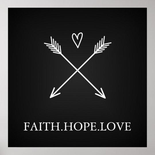 Faith, Hope Love Poster