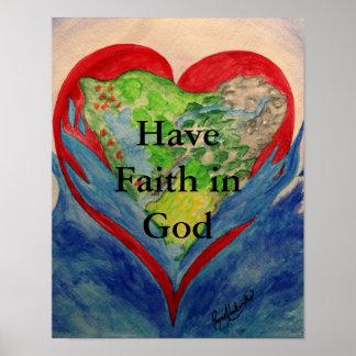 Faith in God Poster