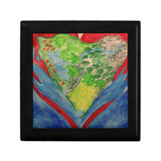 Faith in your Heart Small Square Gift Box