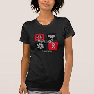 Faith Inspirations Brain Cancer Shirt
