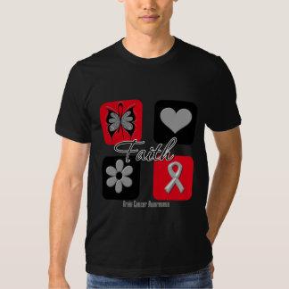 Faith Inspirations Brain Cancer T-shirt