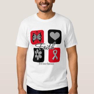 Faith Inspirations Brain Cancer T Shirt