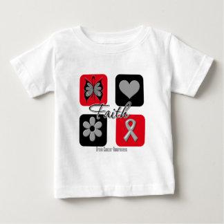 Faith Inspirations Brain Cancer Tshirt