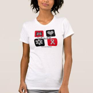 Faith Inspirations Brain Cancer Tshirts