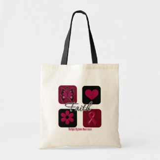 Faith Inspirations Multiple Myeloma Budget Tote Bag