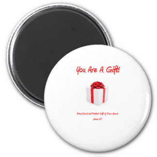 FAITH INSPIRED GIFTS 6 CM ROUND MAGNET