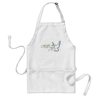 Faith is All I Need Standard Apron