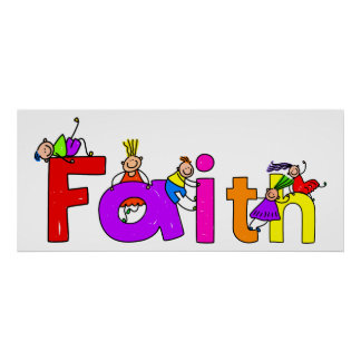 Faith Kids Poster