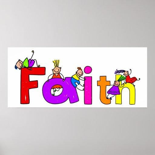 Faith Kids Poster