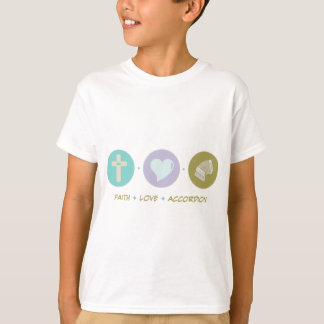 Faith Love Accordion T-Shirt