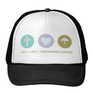 Faith Love Atmospheric Sciences Cap
